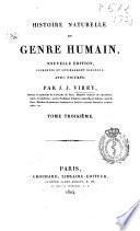 Histoire naturelle du genre humain