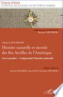 Histoire naturelle et morale des îles Antilles de l'Amérique