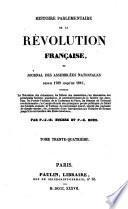 Histoire parlementaire de la révolution française