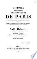 Histoire physique, civile et morale des environs de Paris