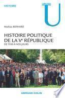 Histoire politique de la Ve République
