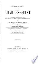 Histoire politique du règne de l'empereur Charles Quint