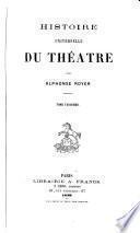 Histoire universelle du théâtre