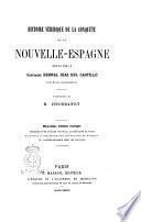 Histoire véridique de la conquête de la Nouvelle-Espagne écrite par le capitaine Bernal Diaz del Castillo