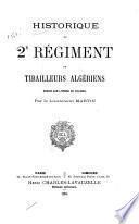 Historique de 2e régiment de tirailleurs algériens