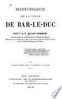 Historique de la ville de Bar-le-Duc