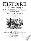 Historique ecclésiastique