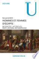 Hommes et femmes d'Égypte (IVo s. av. n.è.-IVo s. de n.è.)