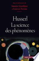 Husserl et la science des phénomènes