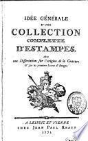Idée générale d'une collection complette d'estampes