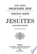 Instructions secrètes des Jésuites