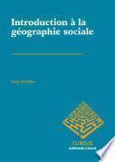 Introduction à la géographie sociale