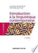 Introduction à la linguistique contemporaine - 4e éd.