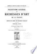 Inventaire genéral des richesses d'Art de la France