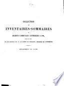 Inventaire-sommaire des archives communales antérieures à 1790. Ouveilhan
