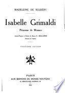Isabelle Grimaldi, princesse de Monaco