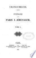 Itinéraire de Paris à Jerusalem