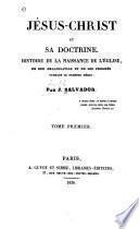 Jésus-Christ et sa doctrine