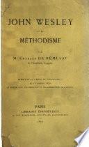 John Wesley et le méthodisme