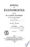 Jounral des Economistes
