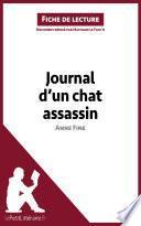 Journal d'un chat assassin de Anne Fine (Fiche de lecture)