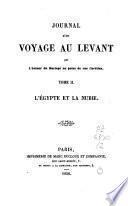 Journal d'un voyage au Levant: La Grèce