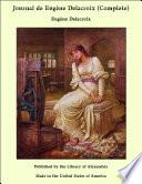 Journal de Eugène Delacroix (Complete)