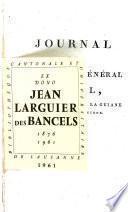 Journal de l'Adjudant-Général Ramel