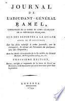 Journal de l'adjudant-général Ramel ... l'un des déportes a la Guiane après le 18 fructidor