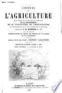 Journal de l'agriculture de la ferme et des maisons de campagnes