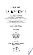 Journal de la régence (1715-1723)
