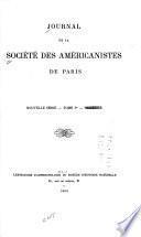 Journal de la Société des américanistes