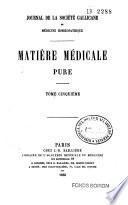 Journal de la Société gallicane de médecine homoeopathique