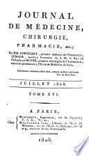 Journal de médecine, chirurgie, pharmacie