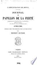 Journal de Papillon de La Ferté