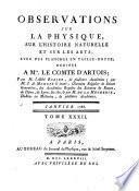 Journal de physique, de chimie, d'histoire naturelle et des arts
