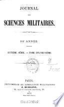 Journal des sciences militaires0