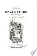 Journal du dispensaire Hahnemann de Bruxelles