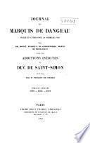 Journal du marquis de Dageneau: 1692-1694
