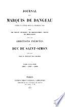 Journal du marquis de Dageneau: 1694-1696