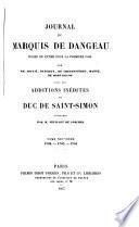 Journal du marquis de Dageneau: 1702-1704