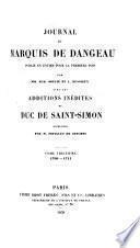 Journal du marquis de Dageneau