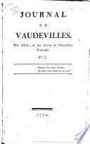 Journal en vaudevilles des décrets et des débats, de l'Assembleé Nationale