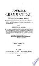 Journal grammatical et didactique de la langue française rédigé par M. Marle, membre de l'Athenée