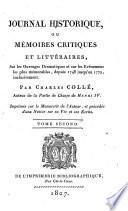 Journal historique