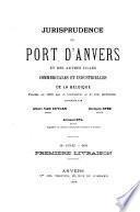 Jurisprudence du port d'Anvers