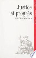 Justice et progrès