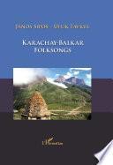 Karachay-Balkar folksongs