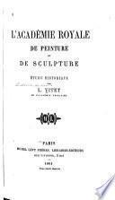 L'Académie royale de peinture et de sculpture