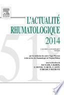L'actualité rhumatologique 2014